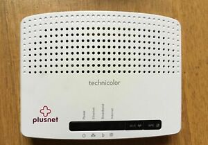 Details about Technicolor TG582n 4-Port ADSL Wireless UK Router