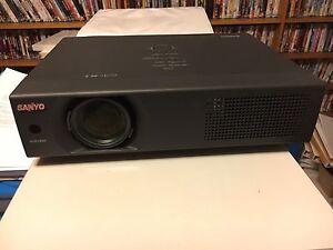Projector-Sanyo-Pro-Widescreen-PLCWXU30-WXGA-WiFi-3700ANSI-Lumen-RRP-3000