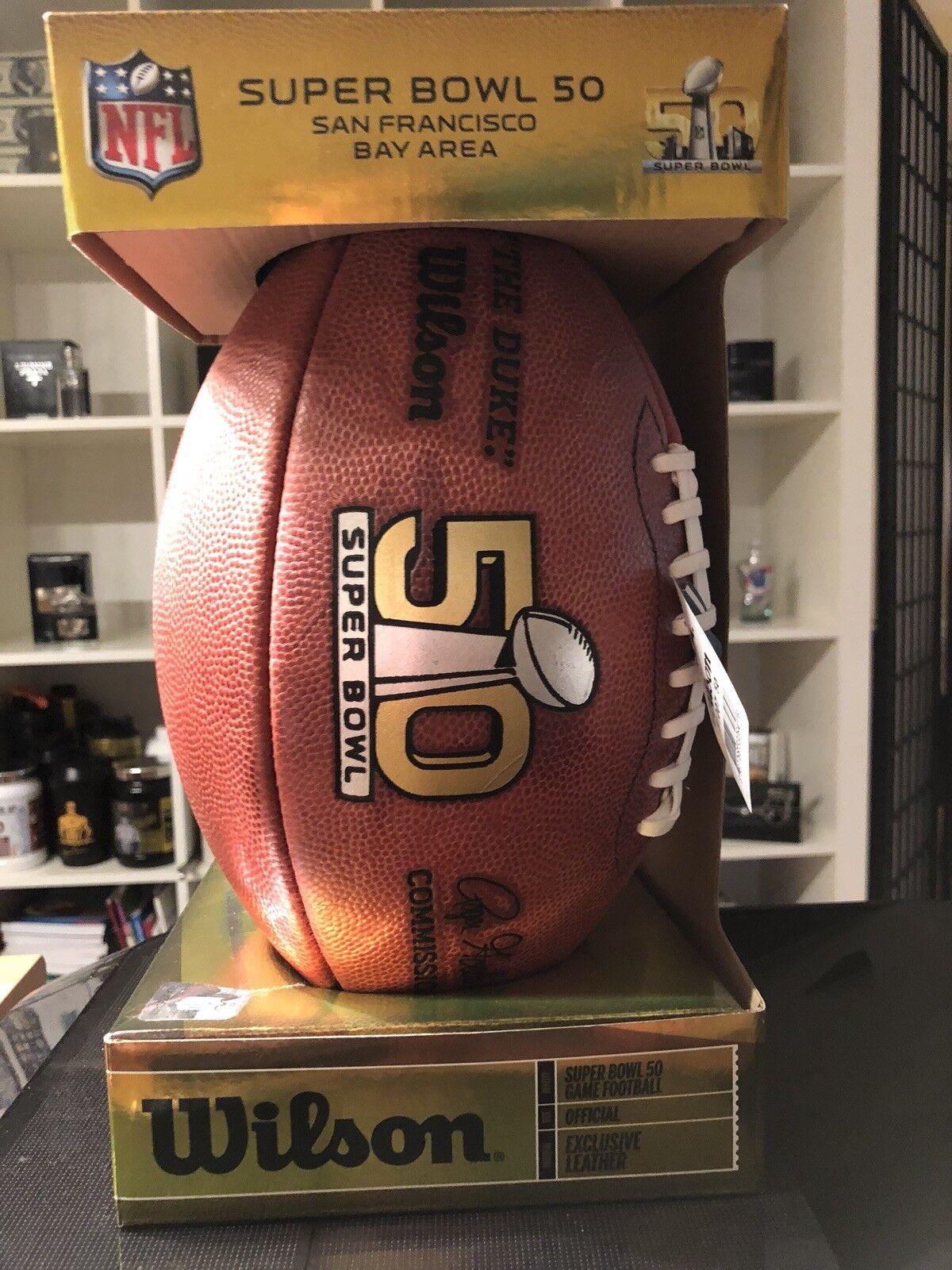 NFL 50. Superbowl - Matchball 'L' -  NEW OVP