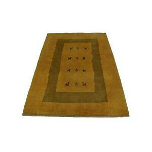 Isabelline Rollinsville Hand Knotted Wool Mustard Yellow Rug - 77% Off Canada Preview
