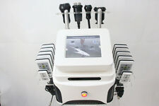 12 laser pads Vacuum ultrasonic rf liposuction body slimming cellulite machine