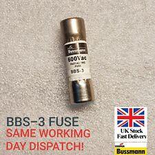 Bussmann Bbs 3 Fuse 3 Amp 600v For Fluke Dmm 8020 Though 8060 8062 Series 475004