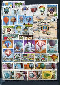 Lot-Luftfahrt-Ballone-o-39798