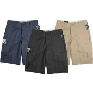 Dickies-Men-039-s-11-034-Cargo-Shorts-Multi-Pocket-Regular-Fit-Work-Uniform-Style-WR556