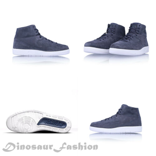 hombre Con Decon Retro Azul 897521 Trueno nuevo 402 Jordan Zapatos Aire 2 pqtwYzz
