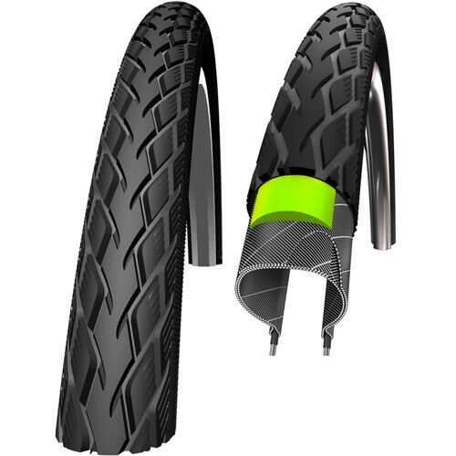 Schwalbe Reifen Marathon Green Guard 40-406 20 Zoll Draht Reflex schwarz