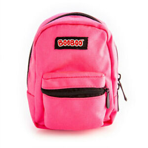 Neon-Pink-BooBoo-Functional-and-Compact-Cute-Backpack-Mini-with-Elastic-Strap