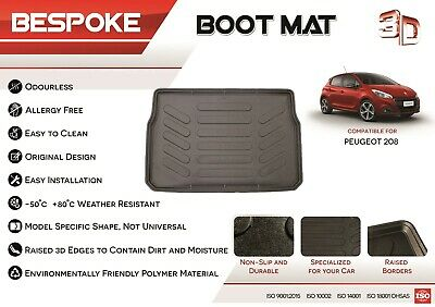 PREMIUM QUILTED BOOT LINER FOR PEUGEOT 2008