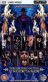 WWE - Tombstone - The History Of The Undertaker (UMD, 2005, 3-Disc Set)