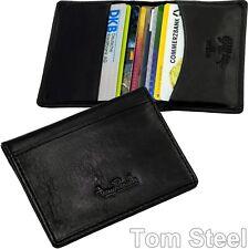 Tony Perotti 11-Fächer Karten-Etui, EC/Kreditkarten (flach: 1cm) Leder Hülle Neu