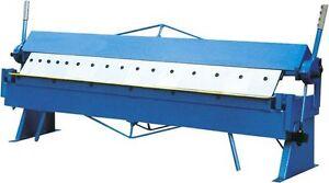 Pressa piegatrice manuale lamiera settori scatolati 1220 x for Pressa manuale usata