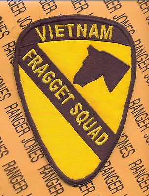 C 2//5 Cav VIETNAM FRAGGET SQUAD 1st Cavalry Div patch