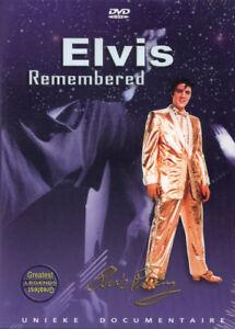 ELVIS-REMEMBERED-UNIEKE-DOCUMENTAIRE-GESEALED-DVD