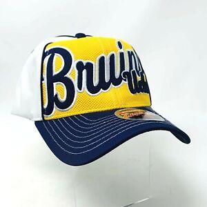 New Zephyr NCAA UCLA Bruins Trucker Uprising Hat Adjustable Cap Hat NWT