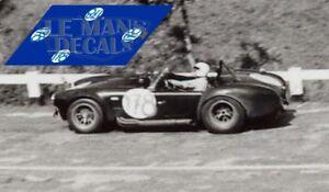 Adaptable Calcas Ac Cobra Targa Florio 1966 1:32 1:24 1:43 1:18 1:64 1:87 Shelby Decals Remise GéNéRale Sur La Vente 50-70%