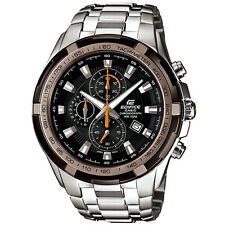 Casio Edifice EF-539D-1A9 EF-539D Tachymeter Stainless Steel Watch Brand New