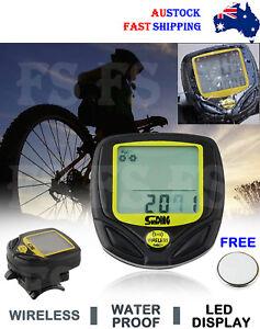 WIRELESS-WATERPROOF-DIGITAL-LCD-BIKE-BICYCLE-COMPUTER-ODOM-ODOMETER-SPEEDOMETER