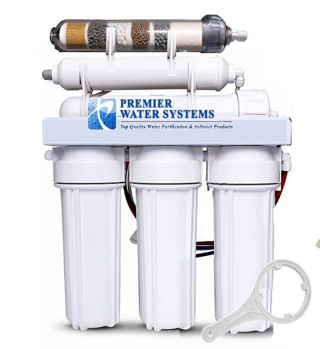 Premier 6 étape Alcalines pH ORP négatif Ultra Filtration (UF) système d'eau