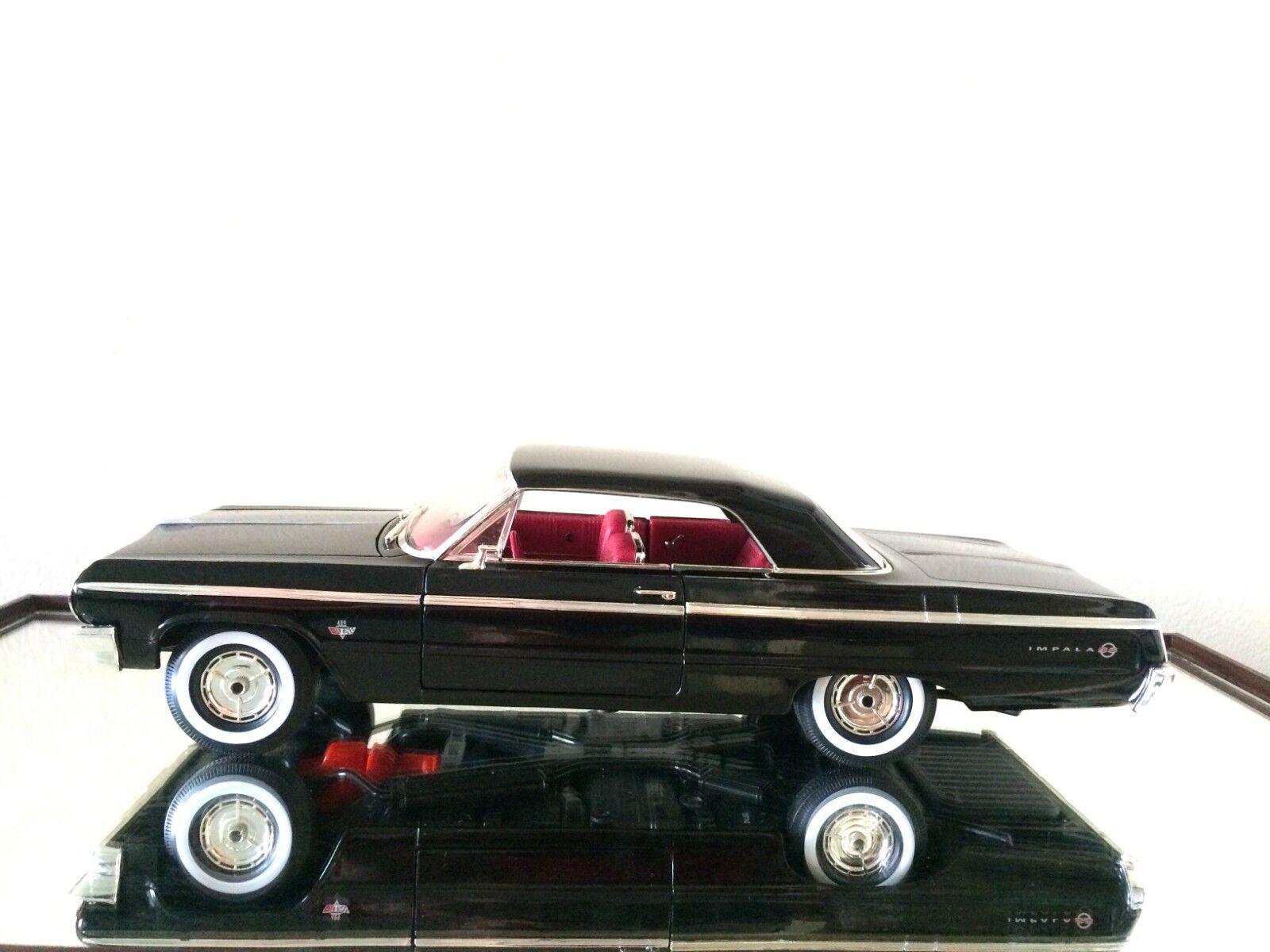 ERTL American Muscle 1964 CHEVROLET IMPALA SS 409 Noir de  Jais  magasin fashional à vendre