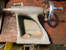 Vintage Atlas No 1250 Wood Lathe 12 Tailstock Bed Clamp Power King Craftsman