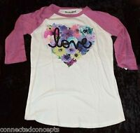 Valentine's Day Love Flowers Women's Raglan T-shirt (size Xsmall)