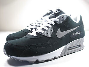 best sneakers 17846 c3dbc Image is loading DS-NIKE-2012-AIR-MAX-90-BLACK-CANVAS-