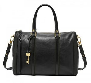 FOSSIL-Bolso-Kendall-Large-Satchel-Black