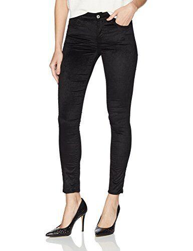 24 Black 7 For All Mankind Women/'s The Velvet Ankle Skinny Jeans
