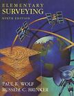 Elementary Surveying by Russell C. Brinker and Paul R. Wolf (1997, Hardcover)