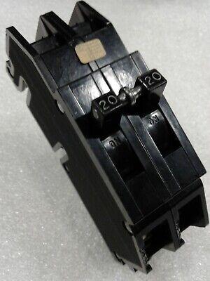 Q20 Zinsco GTE Sylvania Type Q Plug-In Circuit Breaker 1 Pole 20 Amp 120V q120