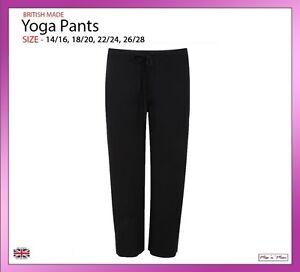 88f1b00bc205b Ladies Women Yoga Gym Fitness Pants Active Wear Trousers Plus Sizes ...
