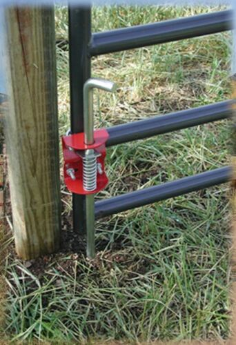 """Farm GATE ANCHOR Kit 1-3//4/"""" to 2/"""" Round Tube New Sure Stop SpeeCo OEM SHIPS FREE"""