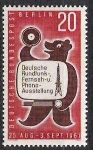 Berlin Nº 217 ** Exposition 1961, Cachet-g 1961, Postfrischfr-fr Afficher Le Titre D'origine