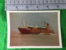 merchant vessel ship Schoonebeek 1977 Shoreham port harbour actual photo
