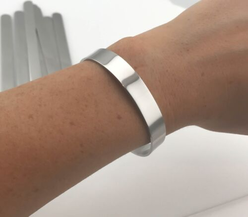 Highly Polished USA Bracelet Cuff Blanks Stainless Steel Plate 10