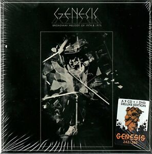 GENESIS-BROADWAY-MELODY-OF-1974-amp-1975-9CD-DVD-BOX-SET-N-35-300-SEALED