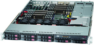 1U-Supermicro-Server-8-Bay-SFF-Xeon-12-core-2-4Ghz-60W-Low-Power-128GB-10GBase-T