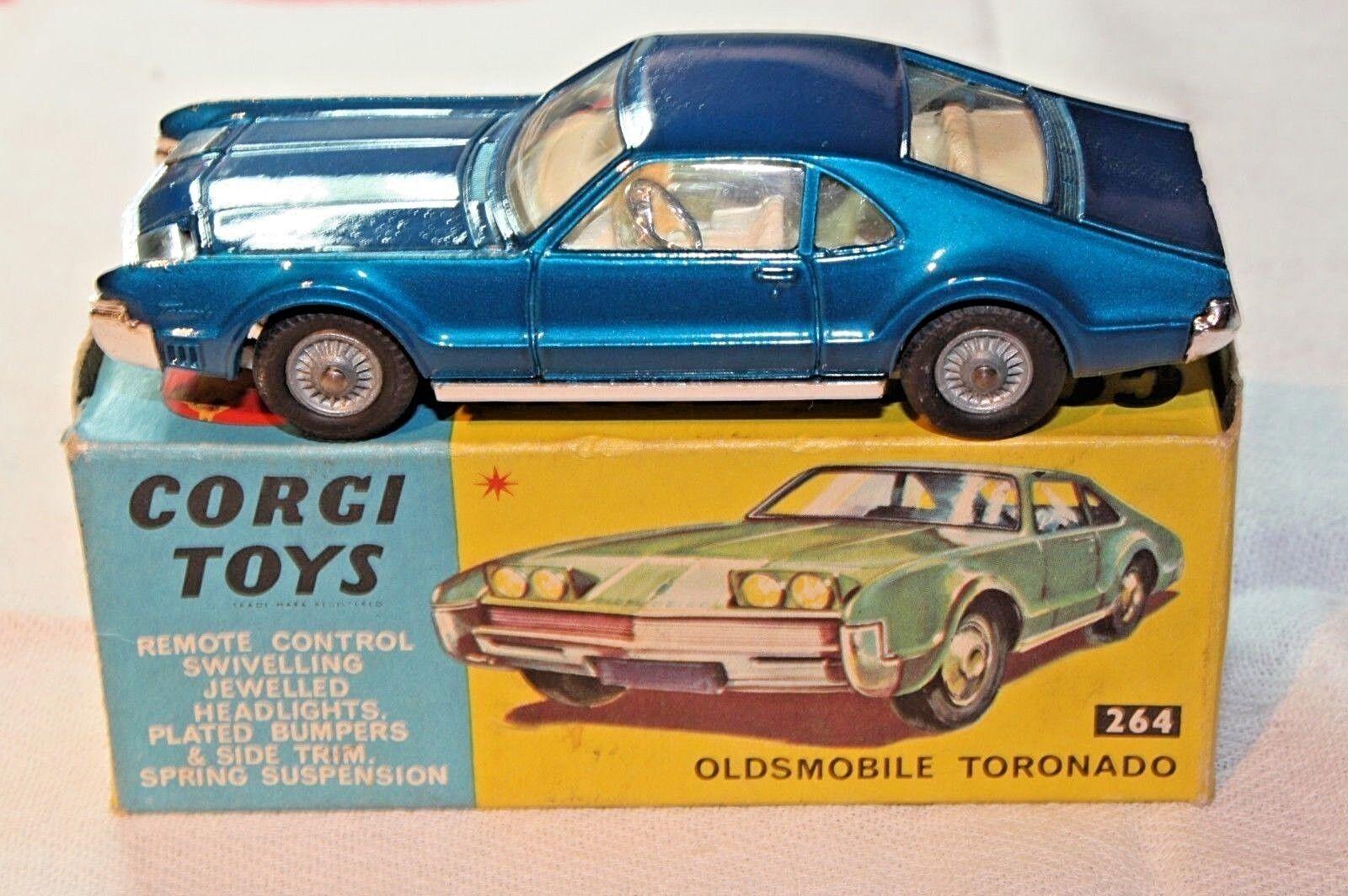 CORGI  264 Oldsmobile Toronado, ottime condizioni nella scatola originale buona