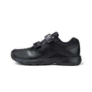 Details zu Reebok Damen Schuhe Arbeit n Kissen 3.0 Wandern Schwarz Slip & Ölbeständig