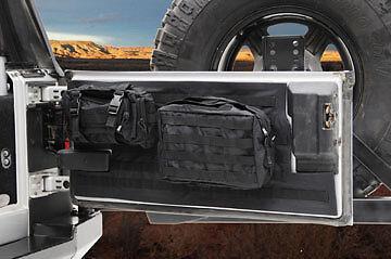 Smittybilt G.E.A.R. Tailgate Cover for 2007-2017 Jeep Wrangler JK 5662301 Black