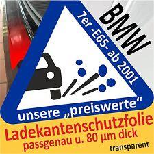 BMW 7er E65 Ladekantenschutz Folie Lackschutzfolie Auto Schutzfolie Autofolie