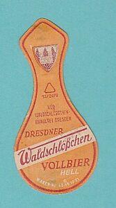 altes BE VEB Waldschlösschen Brauerei Dresden 3