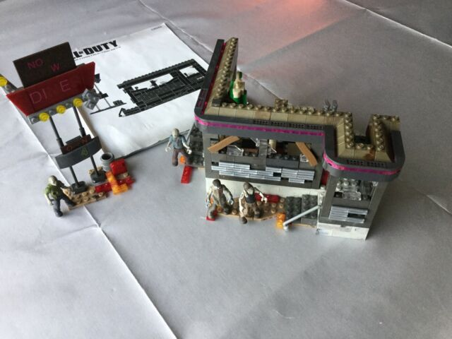 Mega Bloks Call of Duty Rocket Turret Buildable Collector Set Toy