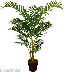 Best Artificial 120cm 1 2m Areca Palme Tropischer Buro Pflanze