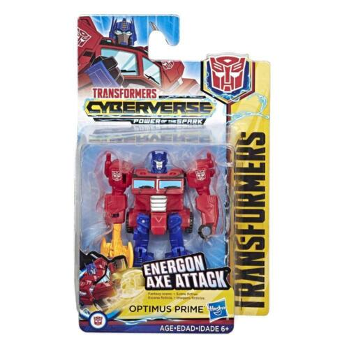 Transformers cyberverse Scout CLASSE Energon axe attack OPTIMUS PRIME cifra