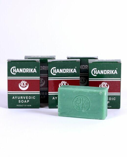 Chandrika Original Ayurvedic Natural Vegetable Oil Soap 5 Pack
