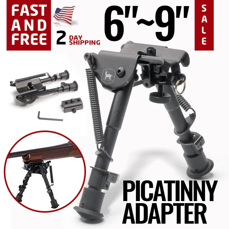 Tan Tactical Picatinny Retractable Bipod Vertical Foregrip Picatinny Mount
