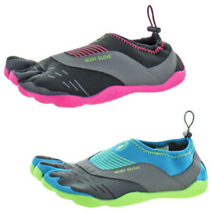 Body-Glove-Women-039-s-Cinch-Neoprene-Barefoot-Minimalist-Three-Toe-Water-Shoes
