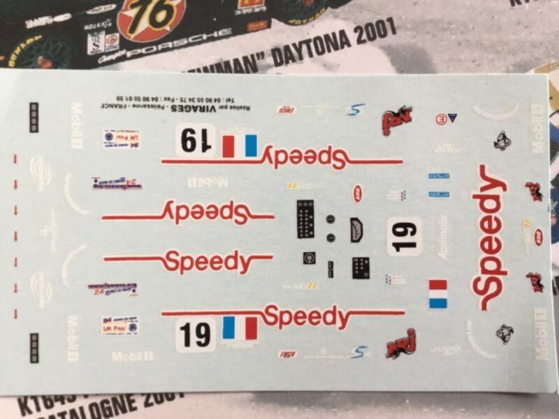 1//43 Rally Decal Additif Citroen C3 Wrc Ogier Lappi Wales 2019 for altaya Spark