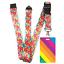 High-quality-ID-badge-holder-RAINBOW-STRIPES-amp-Secure-Lanyard-neck-strap-soft thumbnail 26